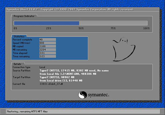 番茄花园GHOST windows7 SP1 X64 旗舰版v2021.03系统下载